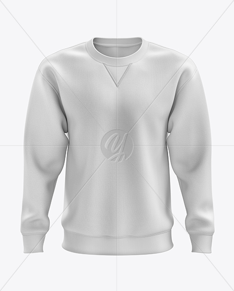 Men's Heavyweight Sweatshirt mockup (Front View)