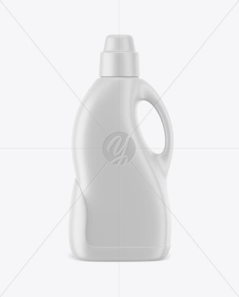 Matte Detergent Bottle Mockup
