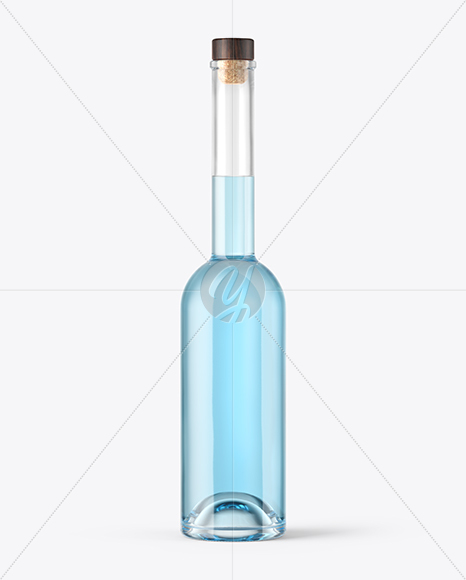 Download Gin Bottle With Wooden Cap Mockup In Bottle Mockups On Yellow Images Object Mockups PSD Mockup Templates