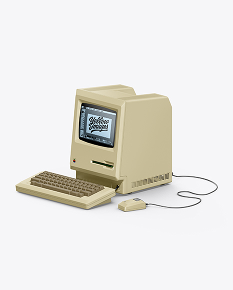 Apple Macintosh 1984 Mockup
