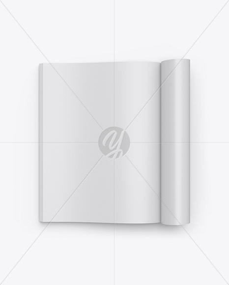 Download A4 Magazine Cover Mockup Free PSD - Free PSD Mockup Templates