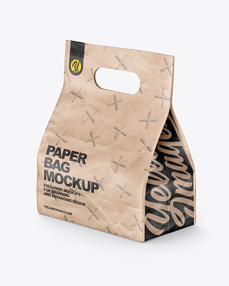 Download Food Bag PSD Mockup