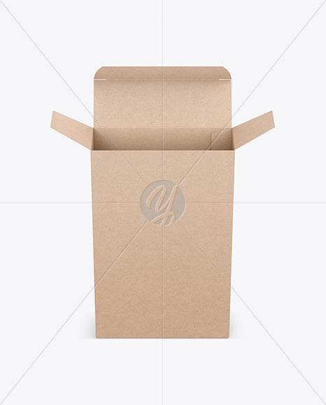 Download Kraft Snack Box Mockup PSD - Free PSD Mockup Templates