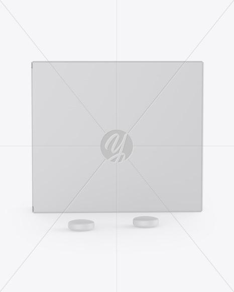 Matte Box w/ Tablets Mockup