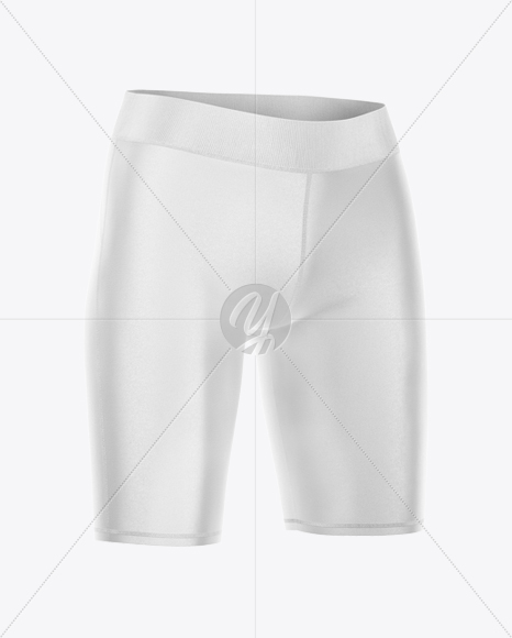Women's Shorts - Half Side View