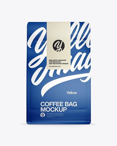 Download Paper Coffee Bag PSD Mockup