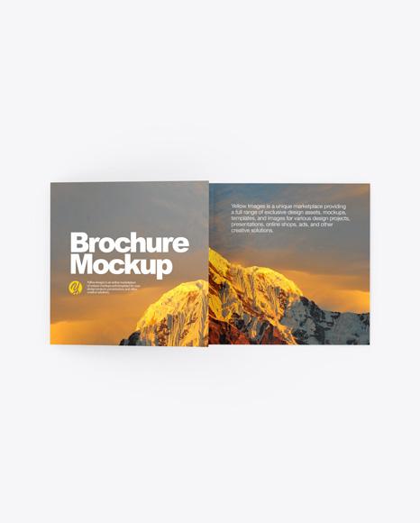Download Paper Brochure PSD Mockup