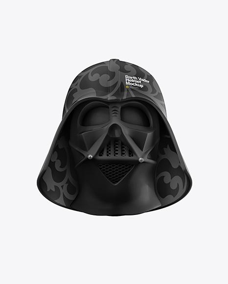 Download Matte Darth Vader Helmet PSD Mockup