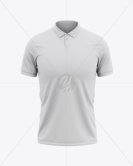 Men's Soccer Jersey Mockup - Front View