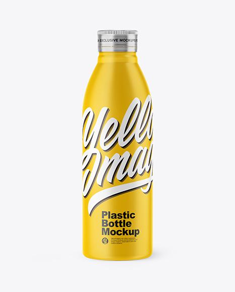 Download 500ml Matte Bottle PSD Mockup