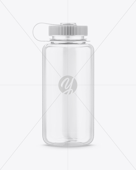 Plastic Sport Bottle Mockup