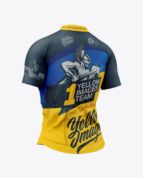 Women`s Cycling Jersey Mockup