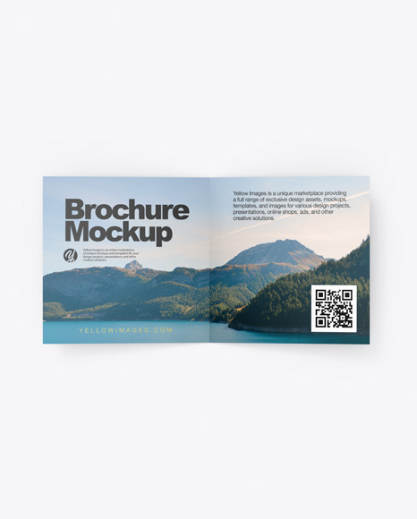 Download Paper Brochure PSD Mockup