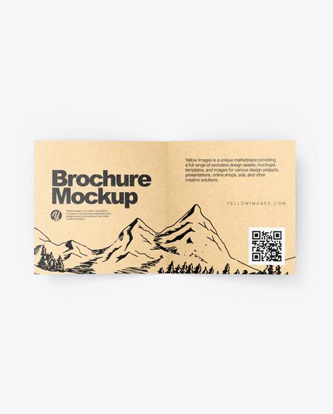 Kraft Brochure Mockup
