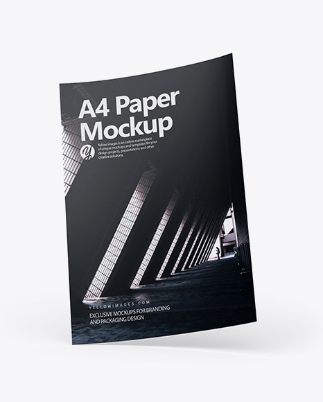 Download A4 Paper PSD Mockup