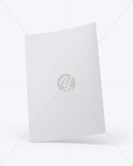 Download Textured A4 Paper PSD Mockup