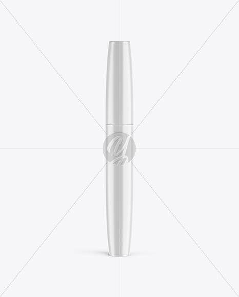 Glossy Mascara Tube Mockup