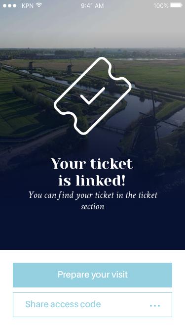 De Kinderdijk App geeft jou de mogelijkheid tickets te bestellen.