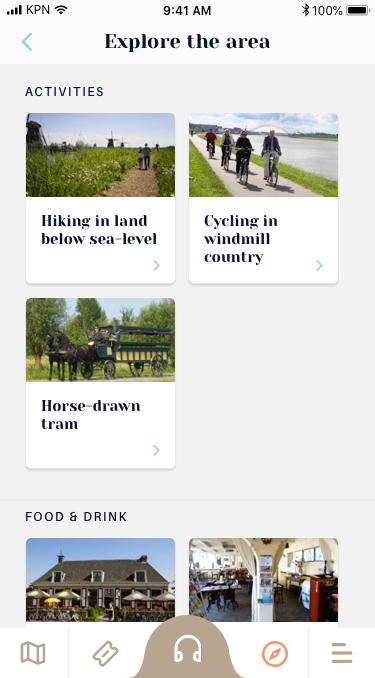 De Kinderdijk App geeft informatie over alles dat er te zien is in de omgeving.