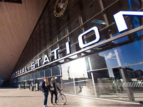 Routes door Rotterdam