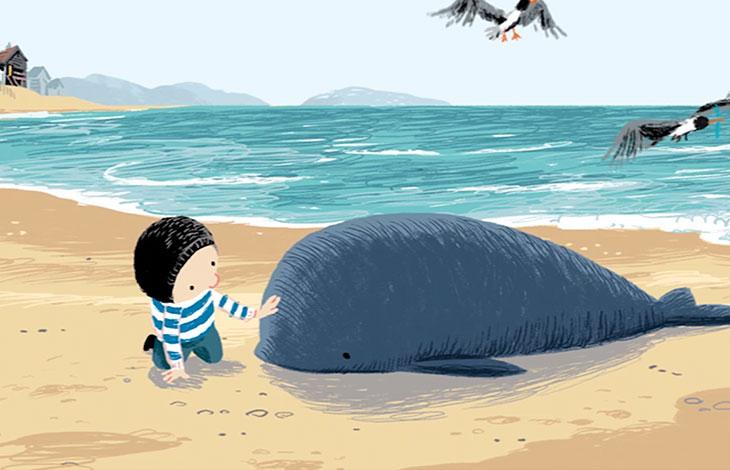 De Kleine Walvis app - Voorlezen