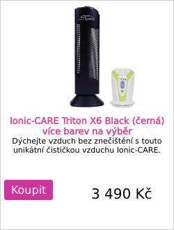 Ionic-CARE Triton X6 Black (černá)