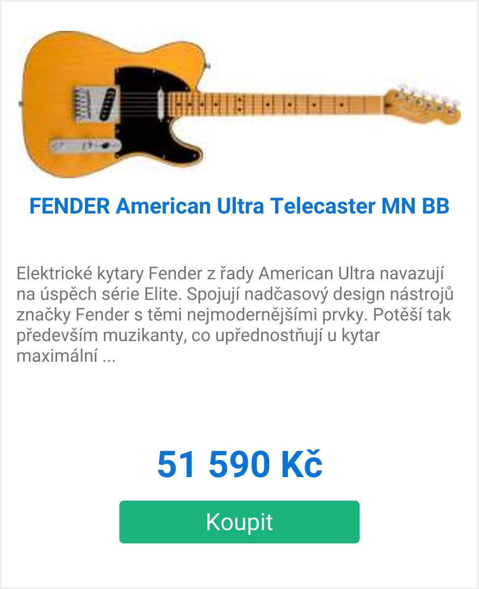 American Ultra Telecaster MN BB