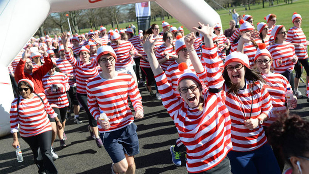 Where's Wally Fun Run - Notting Hill Estate Agents