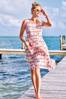 Dress, £69, Boden, boden.co.uk