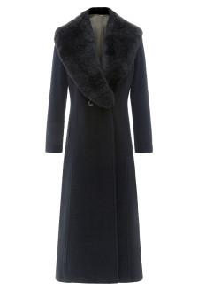 YOU loves: Jacques Vert long faux-fur collar coat