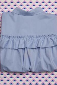Cupboard confidential: H&M ruffle shirt