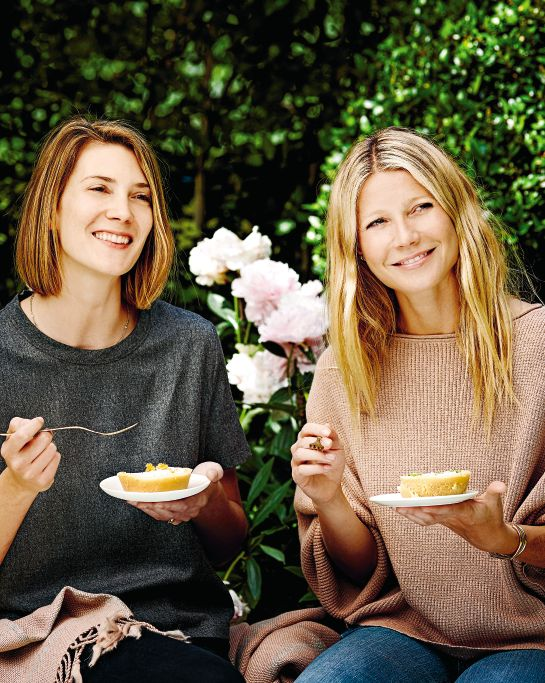 Gwyneth Paltrow and Thea Baumann