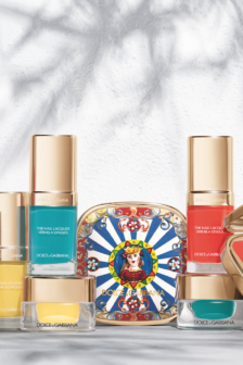 Dolce & Gabbana draw on Carretto Siciliano prints for latest beauty release