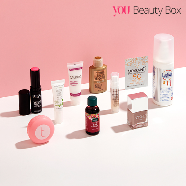 YOU Beauty Box: The Energising Essentials Edit for June