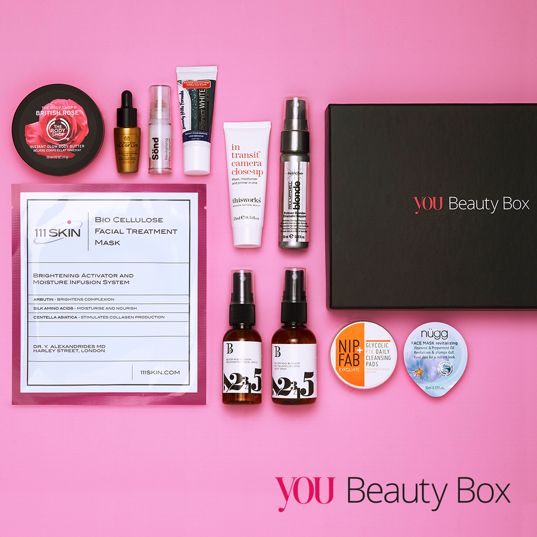 YOU Beauty Box: The Beauty Solutions Edit for August