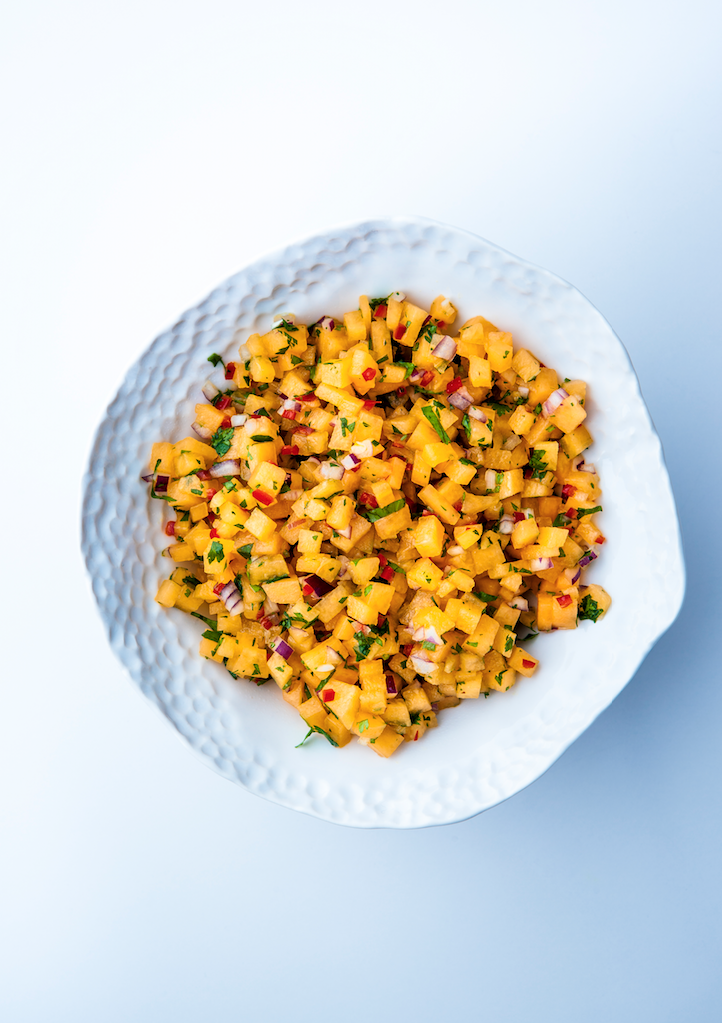 Food: salsa with sizzle
