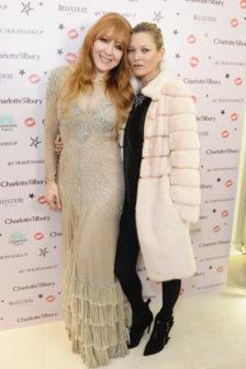 Charlotte Tilbury and Kate Moss