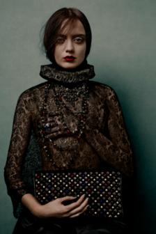 Christian Louboutin release new Tudor style campaign