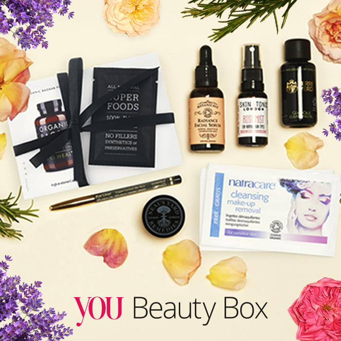 the soil association limited edition you beauty box for organic beauty week you magazine. Black Bedroom Furniture Sets. Home Design Ideas