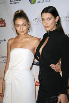 Gigi and Bella Hadid vie for Model of the Year at British Fashion Awards 2016