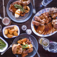 Food: lazy weekend's - and delicious roasts - at Dirty Bones in Shoreditch