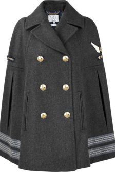 Cape coats to cruise in this winter…