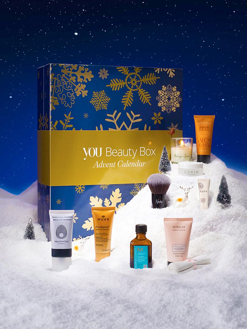 YOU Beauty Box unveils YOU Beauty Advent Calendar 2016