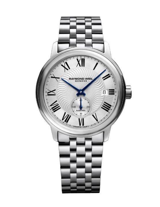 watch, £1,050, Raymond Weil