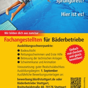 Ausbildungsplätze Bei Bäderbetriebe Stuttgart