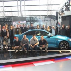BMW Welt 2016 mit unseren Azubis