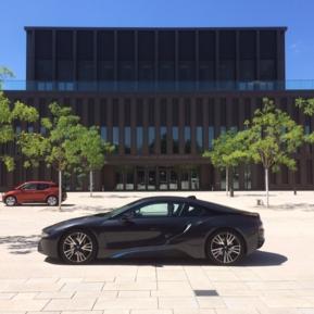 BMW i 8 Stadthalle Reutlingen