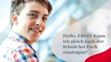 Ausbildung bei der ERGO Versicherungsgruppe AG für deine berufliche Zukunft an verschiedensten Standorten