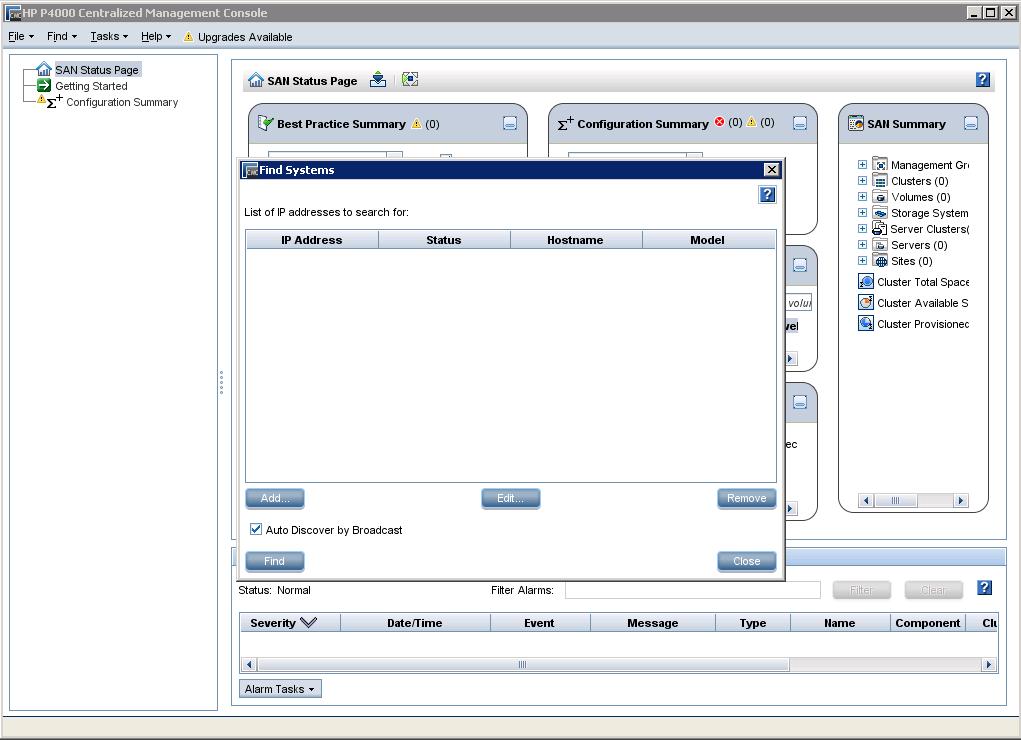 HP StoreVirtual CMC