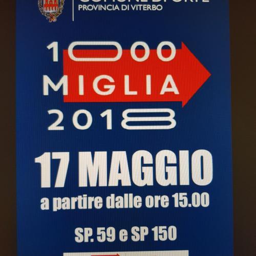 Logo 1000 MIGLIA a Orte